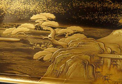 松竹梅鶴香盆サムネイル画像2