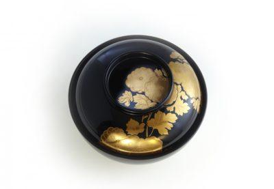 光琳蒔絵45縁紐煮物椀サムネイル画像1