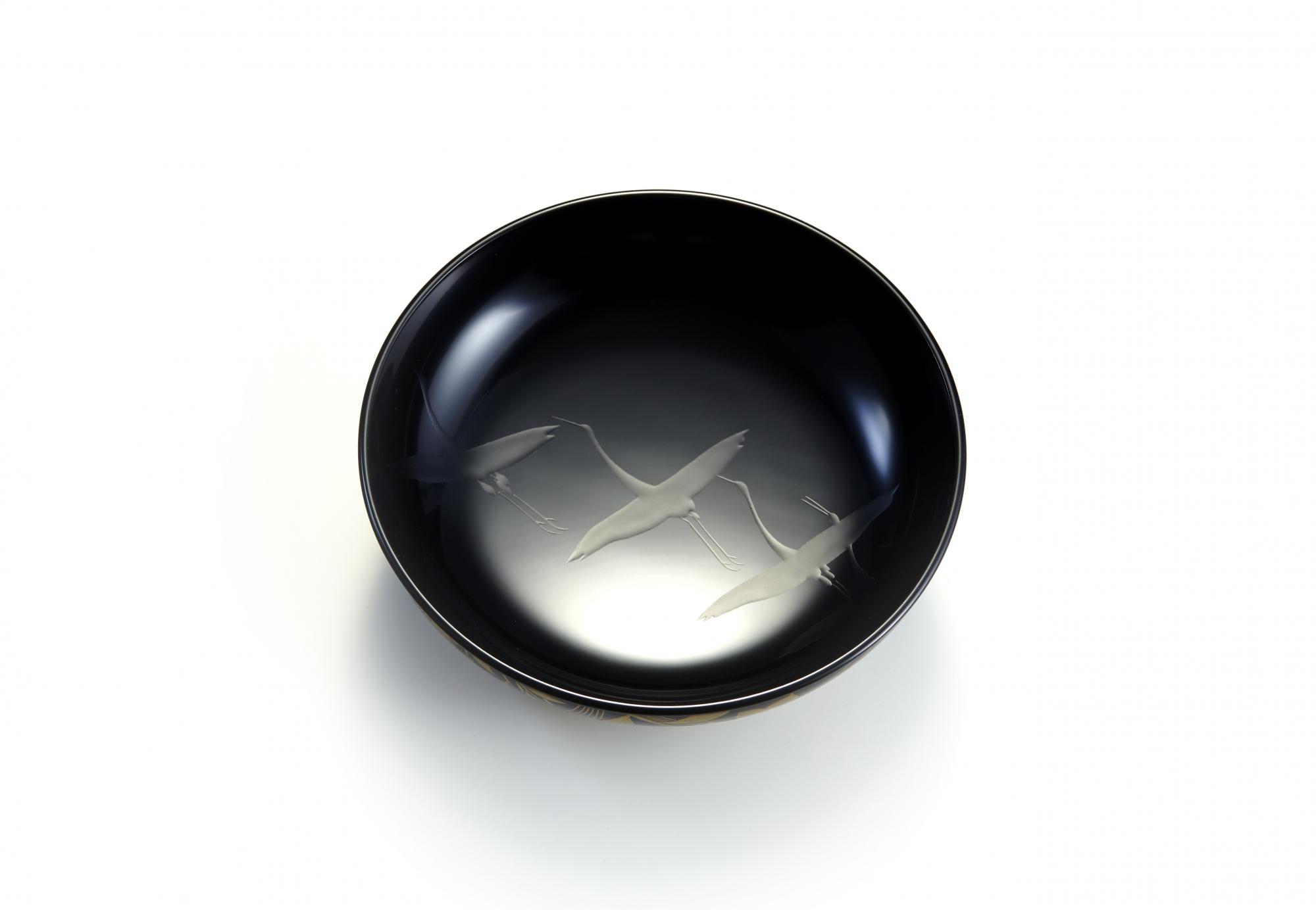 光琳蒔絵45縁紐煮物椀画像8