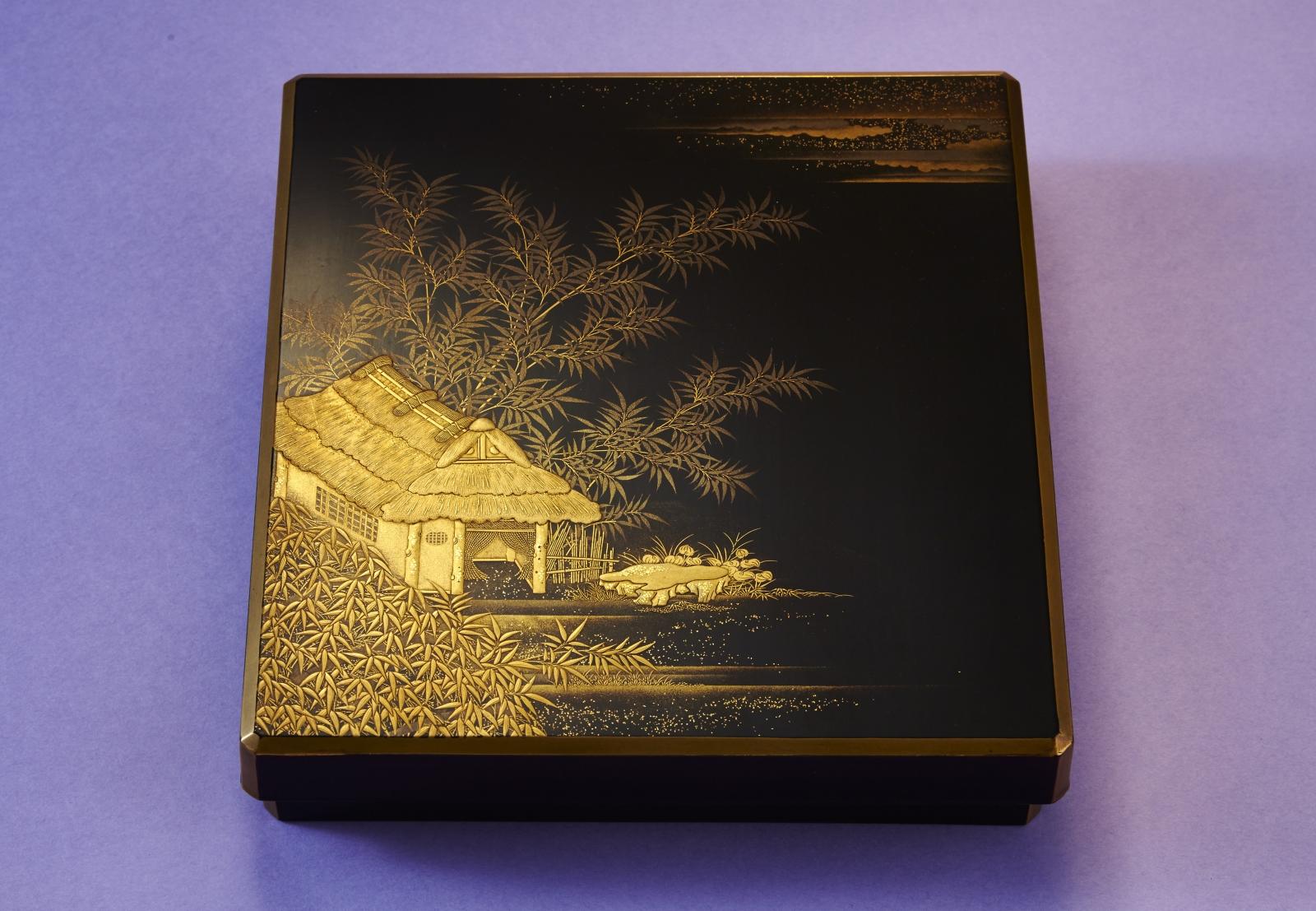田舎家硯箱画像