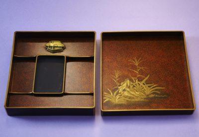 田舎家硯箱サムネイル画像1