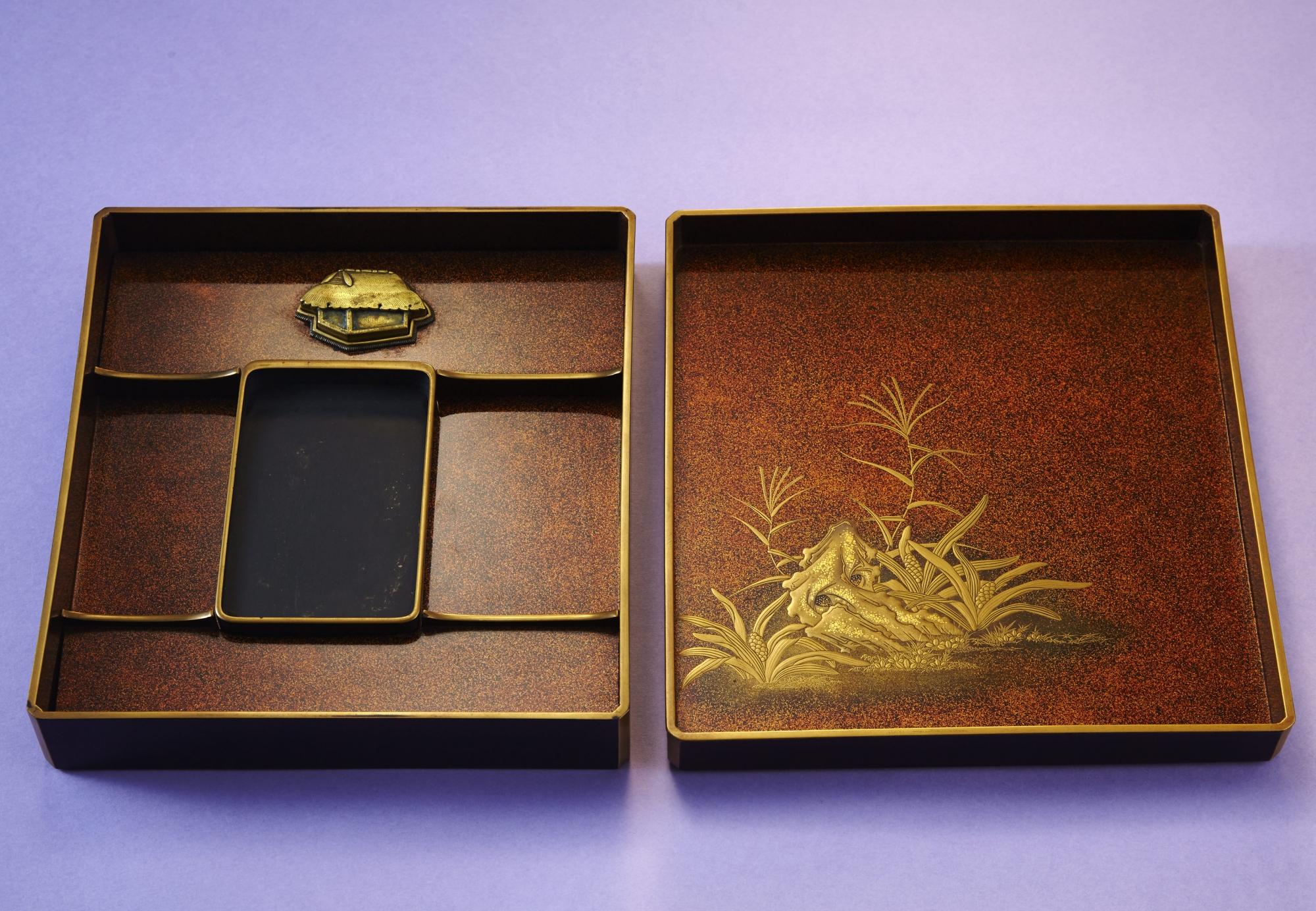 田舎家硯箱画像1