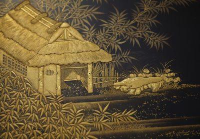 田舎家硯箱サムネイル画像2