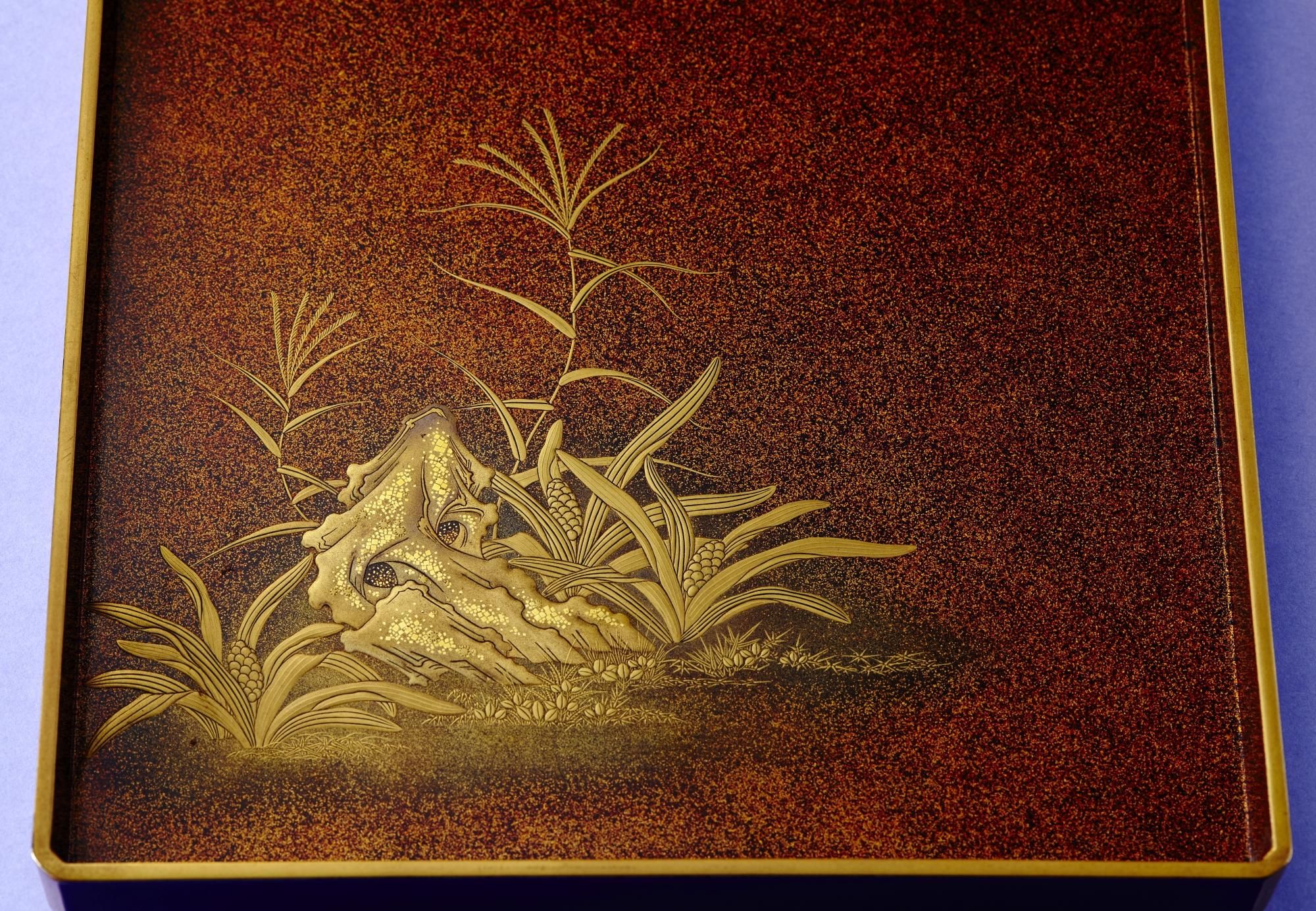 田舎家硯箱画像5
