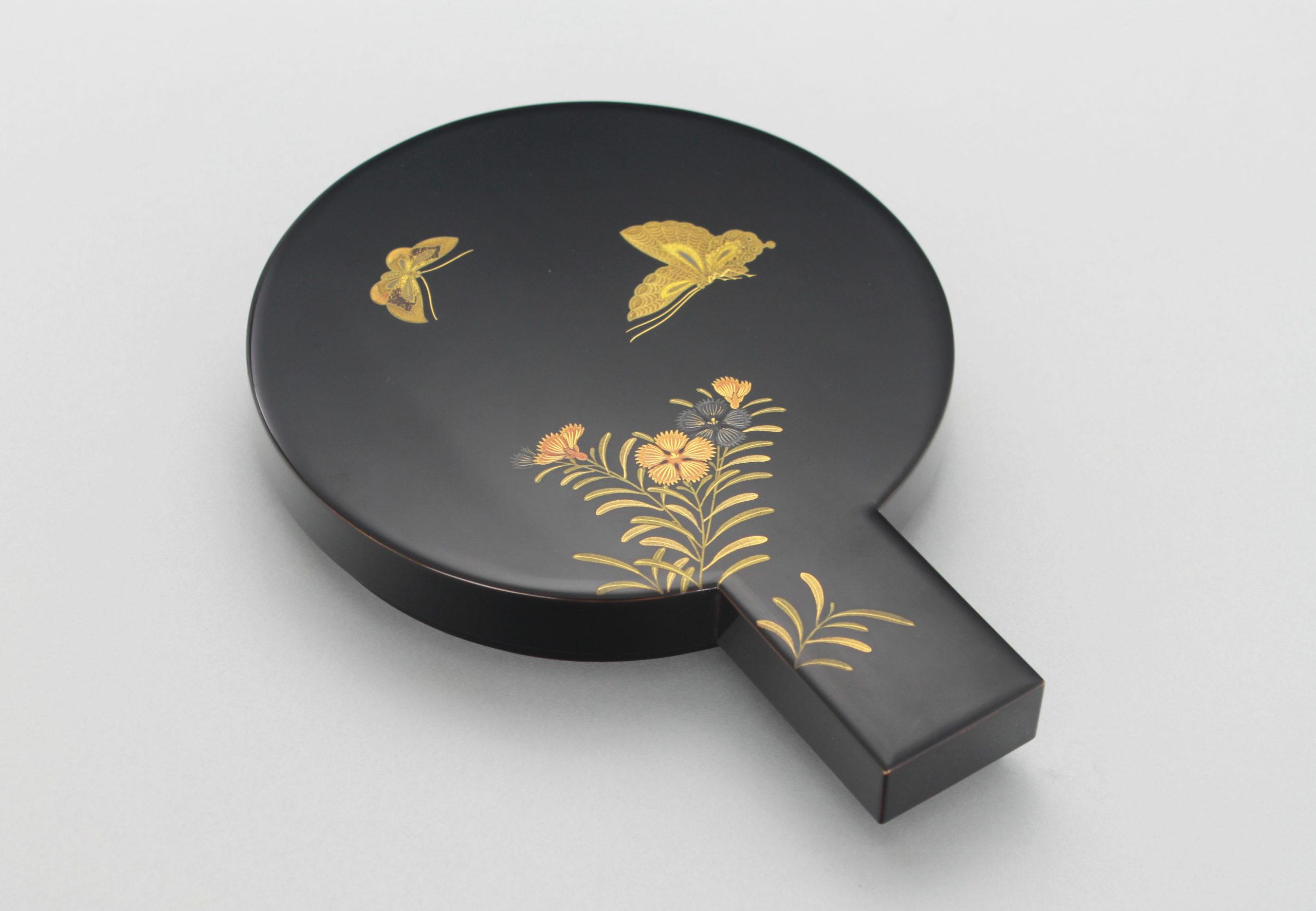 蝶鏡形硯箱画像1